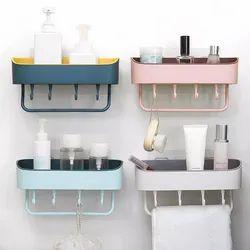 Kite Plastic Bathroom Kitchen Storage Organizer, Size: Regular