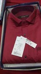 Linen Formal Wear Stock Lot Gents Shirts
