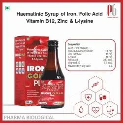 Iron Gold plus syrup