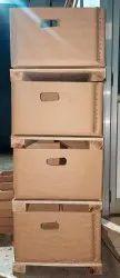 Corrugated Record Storage Box