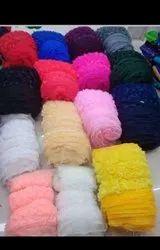 Net Fabric Flowers