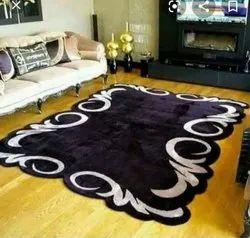 For Home Shape Carpets Cotton Silk Carpet, Size: 5*7