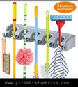 Wall Mounted Stick Handle Mop And Broom Holder