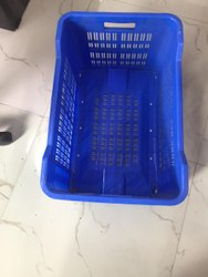 Rectangular Mesh Plastic Tomato Box, Size: 540 X 360 X 292 mm, Capacity: 25Kg