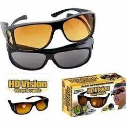 HD Vision Day and Night Unisex HD Vision Goggles Anti-Glare Polarized Sunglasses