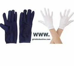 Cotton Hand Gloves Multi Free Size Unisex Soft Reusable Washable