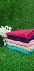 Plain Trident Cotton Bath Towel, For Bathroom, Size: 27x54 Inch