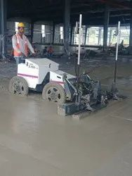 Laser Screed Concrete Flooring Service, For Outdoor