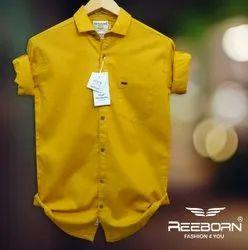 Plain  Cotton linen shirts