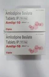Amlodipine Besylate Tablets 10 Mg