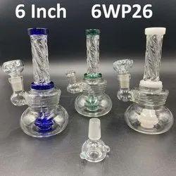 6 inch Water smoking pipe