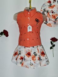 Girls Top And Skirt