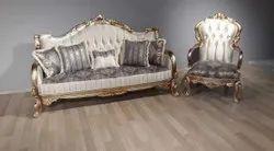 Teak wood King sofa set