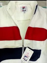 Full Sleeve Wind Cheaters Fila Mens Jacket