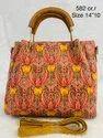 Bagru Print Hand Bag