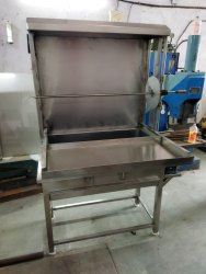 Charcoal, Motor Operating Shawarma Machine