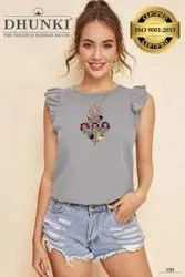 Stylish embroidery tops