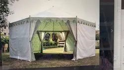 Green Pavilion Tent For Garden, Wedding And Events