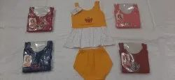 100% Cotton Material 5 Colors Baby Girls Dress
