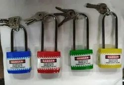 Asian With Key Safety Loto Padlocks, Stainless Steel