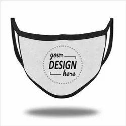 Custom Logo Printed Face Masks For Promotion