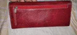 Plain Ladies Pure Leather Wallet