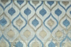 Polyester Blue Sher Curtains, For Door