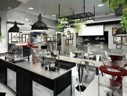Restaurant Interior Designing With Complete Set Up