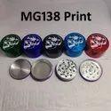 56 mm print tabacco grinder