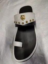 Black brown ten Rubber Slippers