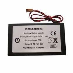 GE Fanuc Battery IC693ACC302B 3V 15Ah