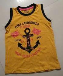Boys Sleeveless Tshirt