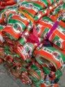 Election Campaign Scarf / Fatka Polyester, Silk & Roto Fabric