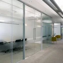 Tuffend Glass Partition