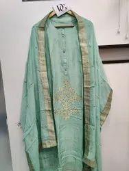 Dollasilk Febrices Banarasi Silk Dress Material