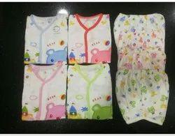 Unisex Casual Wear Newborn Baby Dress, Age Group: 1Year
