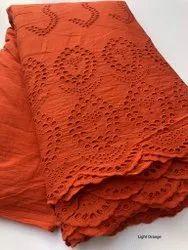 Cotton Hakoba Fabric, Plain/Solids, Multicolour