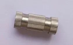 Stainless Steel Knurled Groove Nut, Size: 6mm