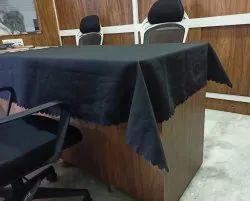 Polister Dull Fabric Plain Tablecloth For Restaurant