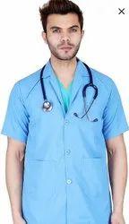 Full Sleeve Green Hospital Apron