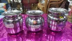 Stainless Steel Water Lota, For Pooja