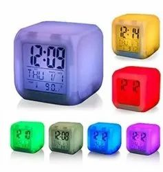 Square Digital Colour Watch, For Daily
