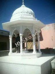 Marble Chatri 8 Pillars