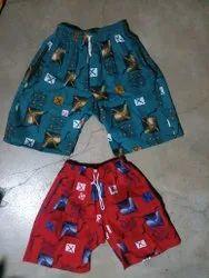 Yellow Boy Kids Cotton Bermudas Shorts