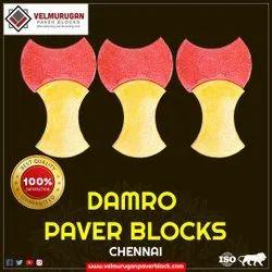 Rubber mould paver block damro