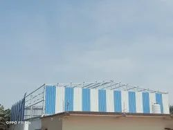 MS pipe frame structures Industrial Projects Warehouse Buildings Construction Services
