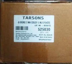 Tarsons -20 Degre C Mini Cooler 1.5ml (12 Places), Model Name/number: 525030