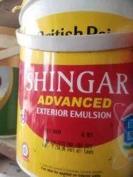 British Shingar Advanced Exterior Emulsion Paint, Packaging Size: 20 Litres