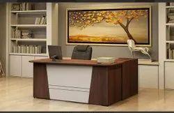 Wooden Rectangular Rite Source Boss Table