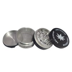 50 mm print herb smoking grinder